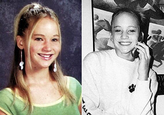 Jennifer már a sulis években is mosolygós volt, szimpatikus kisugárzása azóta sem változott.