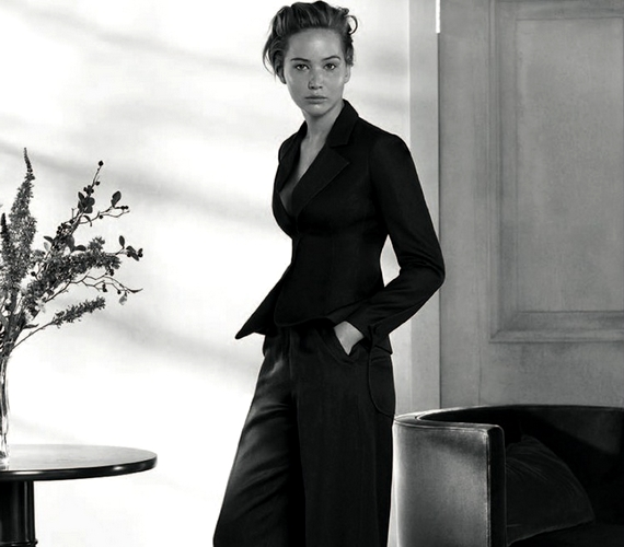 Nem ezt a külsőt szokhattad meg Jennifer Lawrence-től.