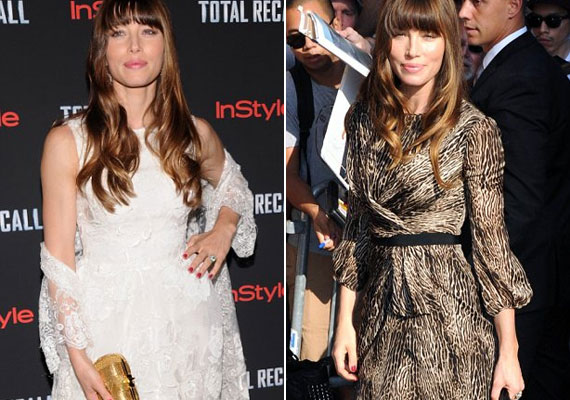 Összetett személyiség: egy napon belül viselte a két nagyon különböző stílusú ruhát.