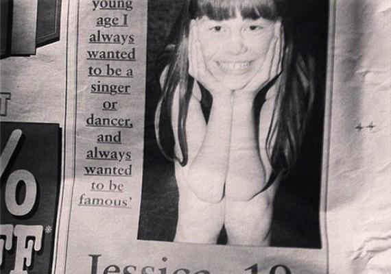 A címlapfotó: Jessie J az interjúban elárulta, hogy már kiskorától kezdve híres énekesnő vagy táncosnő szeretett volna lenni.