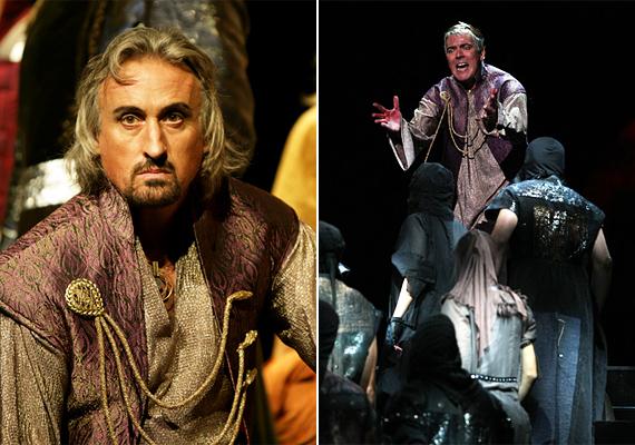 Sasvári Sándor és Venyige Sándor, valamint Posta Victor alakítják Pilátus szerepét.