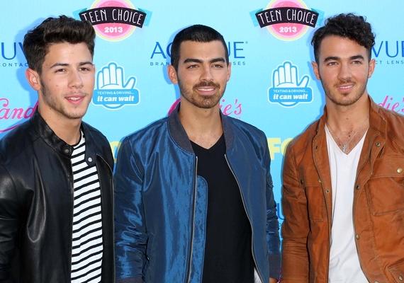 Nemcsak Joe, de testvérei, Kevin és Nick is sokat változtak az évek során.