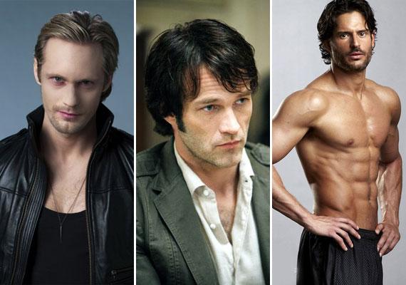 A True Blood című sorozatban Sookie három pasi között őrlődik: szerinted melyikük a legharapnivalóbb?