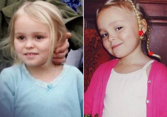 Ilyen aranyos volt kislányként: szülei már akkor sem sűrűn mutatták meg a nyilvánosságnak.