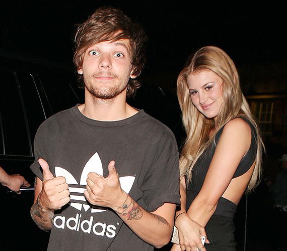 Nagy port kavart, amikor kiderült, hogy a One Direction együttes 18 éves tagja, Louis Tomlison teherbe ejtette barátnőjét, Briana Jungwirthot. Bár szorosan tartják a kapcsolatot, hivatalosan nincsenek együtt.