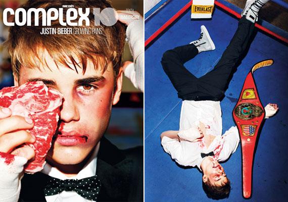 Már a magazin címlapja is sejteti, hogy nagyon durva képek lesznek a belső oldalakon.