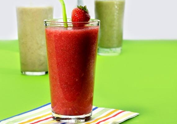 Ha valami frissítő, finom italra vágysz, a hideg ellenére is próbáld ki a gyümölcsös, jeges smoothie valamelyik változatát.