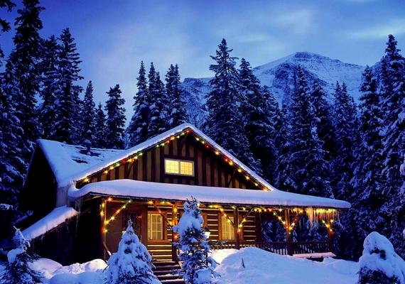 Tökéletes karácsonyi helyszín.Kattints ide a nagyobb felbontású képért! »