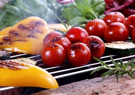 Rendezz kerti partit, és grillezzetek zöldségeket! Ezzel nem ártasz az alakodnak.