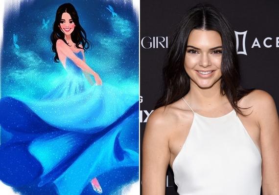 Hamupipőke mint Kendall Jenner.