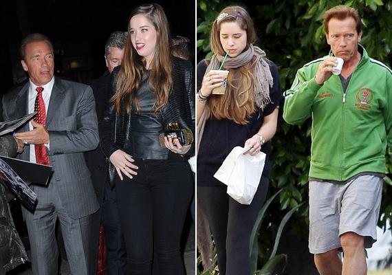 Katherine külsőre ugyan jobban hasonlít az édesanyjára, de ettől még édesapjával, Arnold Schwarzeneggerrel is sok a közös bennük.