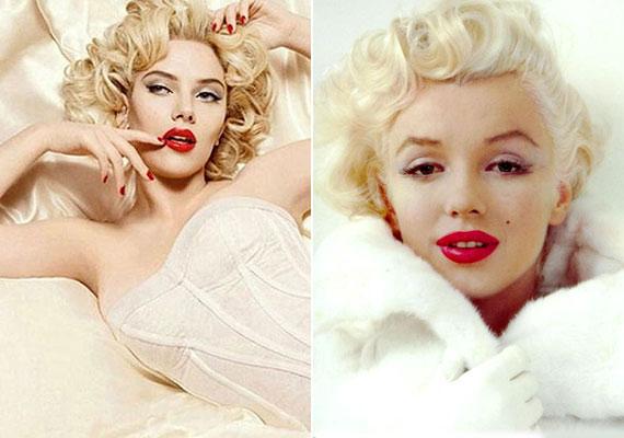 Scarlett Johansson egy Dolce&Gabbana-reklámban pózolt Marilyn Monroe-ként.