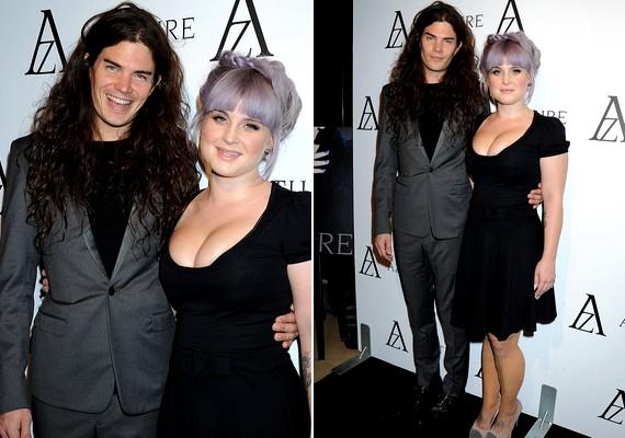 Kelly Osbourne igazán jó formában van, és úgy tűnik, nagyon boldog vőlegényével, Matthew Mossharttal.