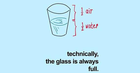 Tulajdonképpen a pohár mindig tele van... A nagy felbontású képért kattints ide!