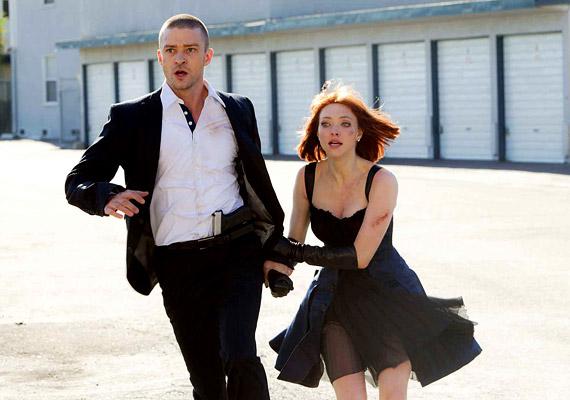 Sci-fi a javából a Justin Timberlake és - a Chloe-ból ismert - Amanda Seyfried főszereplésével készült Lopott idő. Október 27-étől láthatod.
