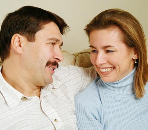 27 éve házasok Herczegh Anitával.