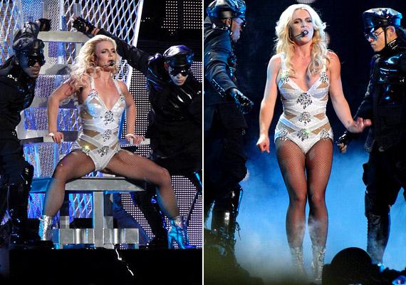 A show rendkívül látványosnak ígérkezik, a változatos program során Britney még rendőri őrizetbe is kerülhet.