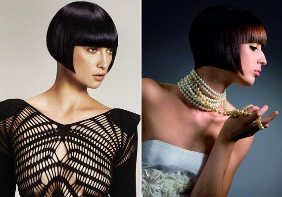 A Kleopátra-fazon örök klasszikusnak számít, idén sem maradhatott le a rövid hajak palettájáról: a legújabb trend szerint olyan egyenes, mintha csak vonalzó mellett vágták volna.
