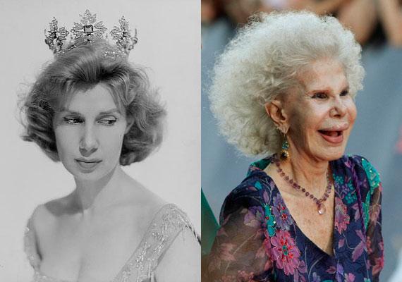 Alba hercegnője 1957-ben még bájosan elegáns fiatal nő volt, mára azonban önmaga karikatúrájává vált.