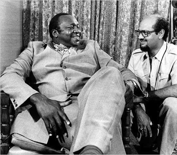 Idi Amin áldozatainak száma 3-500 ezer közé esik. Ugandai törzseket irtott ki, ellenségei fejét hűtőszekrényében tartotta.