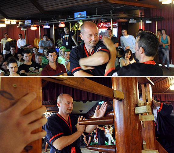 Simicskó István a Leung Ting Wing Tsun elnevezésű keleti harcművészettel foglalkozik, jelenleg a HWTO negyedik instruktori fokozatú gyakorlója.