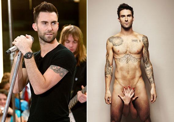 Adam Levine, a Maroon 5 sármos énekese egy kényes ügy, a prosztatarákszűrés jelentőségét hangsúlyozandó dobta le a ruháit.
