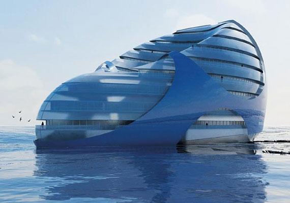 A Seascraper egy környezetbarát, vízen lebegő város, önellátó otthonokkal, irodákkal és szórakoztató egységekkel.