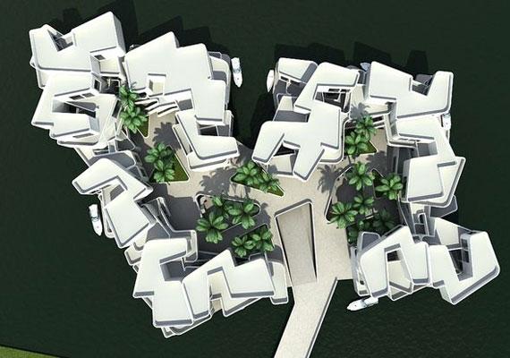 Ha a tervek megvalósulnak, Koen Olthuis tervei alapján a Citadell lehet Európa első, vízen lebegő apartmanja, akár már 2014-ben.