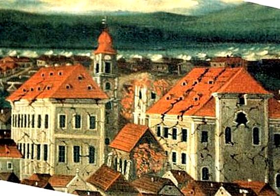 Az 1763-as komáromi földrengés a legnagyobb erősségű földmozgás volt az ország területén. 63 halálos áldozata lett.
