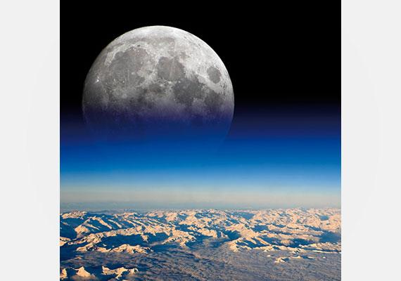 A természeti jelenségek is tele vannak optikai illúziókkal, még az égen fénylő Hold is becsapja a szemünket.