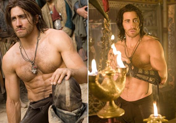 Jake Gyllenhaal a Perzsia hercegében vetette le ruháit. Hidd el, Jake, megérte a hónapokig tartó edzés a filmet megelőzően!