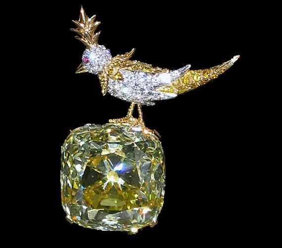 A Tiffany gyémánt az egyik legnagyobb sárga gyémánt, amit valaha találtak.1877-ben találták Dél-Afrikában.