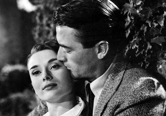 Az 1953-mas feledhetetlen Római vakációban Audrey Hepburn és Gregory Peck szeretett fülig egymásba.