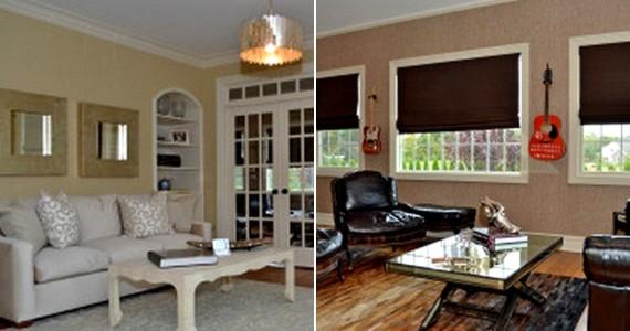 Több nappali és zeneszoba is található az ingatlanon belül.