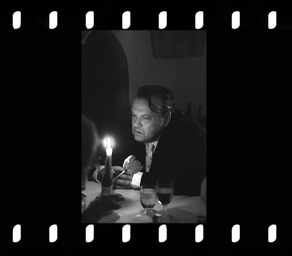 Orson Welles amerikai filmrendező, 1967.