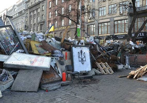 Az Evropejszkij tér és a Majdan között is akad belőlük néhány.