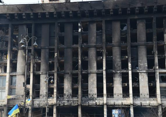 Életveszélyes állapotok uralkodnak ebben az épületben.