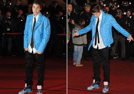 Igen, Justin, jól látod, tényleg elfelejtetted lecserélni a sportcipődet!
