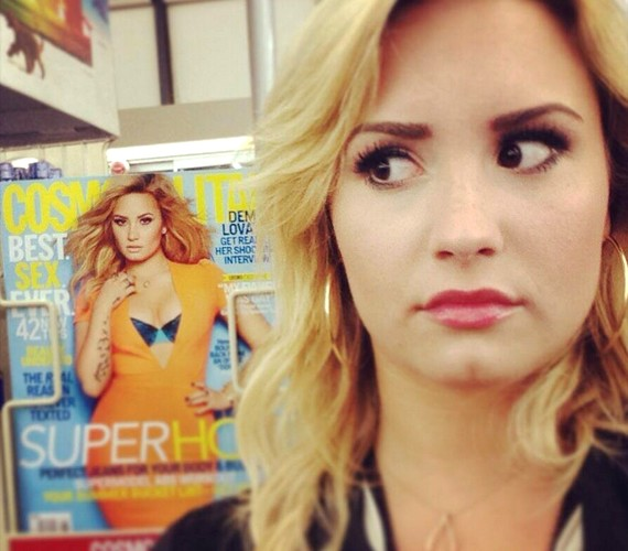 Vajon Demi Lovato vett a magazinból, miután fotózkodott vele?