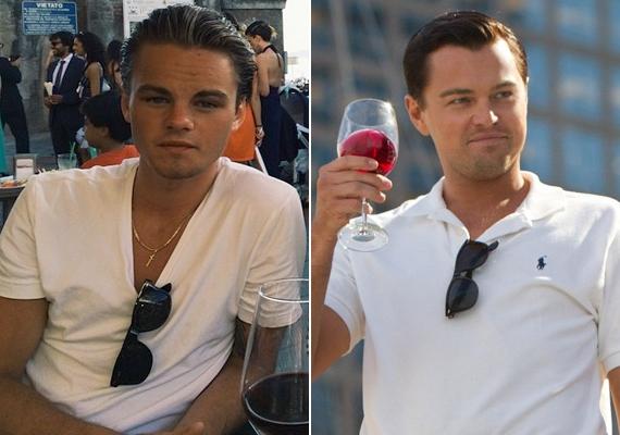 Konrad valószínűleg figyelemmel kíséri Leo öltözködését is, a fehér póló-napszemüveg kombó jellegzetes utalás A Wall Street farkasa című filmre.