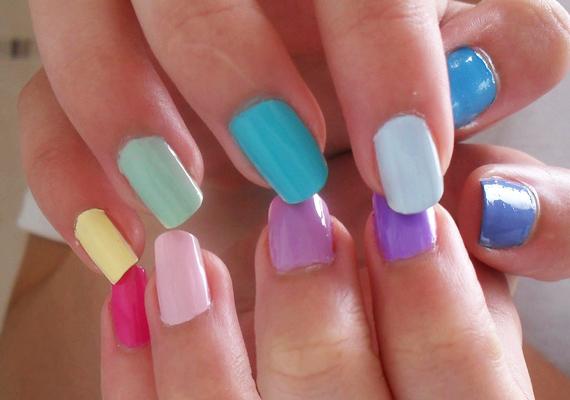 Vagy ha szereted a színeket, akár a szivárványstílust is választhatod.
