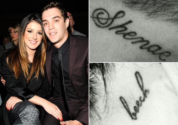 A 90210 című sorozat 25 éves sztárja, Shenae Grimes férje, Josh Beech vezetéknevét tetováltatta a füle mögé, Josh pedig Shenae keresztnevét. A színésznő még a derekán lévő Myself and I feliratot is Myself and Joshra módosíttatta.