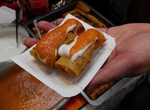 Vasárnap mexikói finomságokat kóstolhattunk, főleg a csípős ízvilág jellemző, még az édességben is.