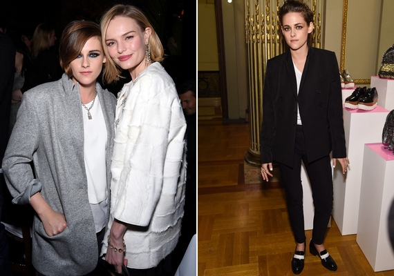 A színésznő újabban a nyilvános eseményekre is inkább maszkulin ruhadarabokat választ.