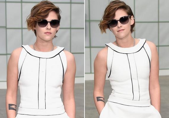 Az elegánsabb ruhákban láthatóan feszeng, de ha felkerül egy vagány napszemüveg, máris jobban érzi magát.