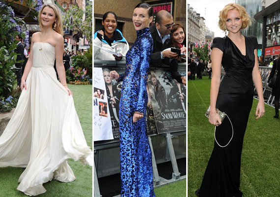 A parti legjobban öltözött hírességei Amber Atherton, Liberty Ross és Lily Cole voltak.