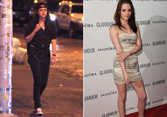 Szinte hihetetlen, hogy mindkét képen Kristen Stewart van.