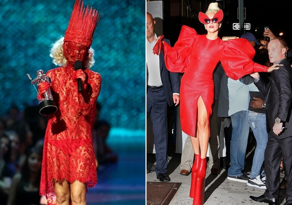 Lady Gaga híres extrém szettjeiről, így a mostani külseje hozzá képest igen visszafogottnak mondható.