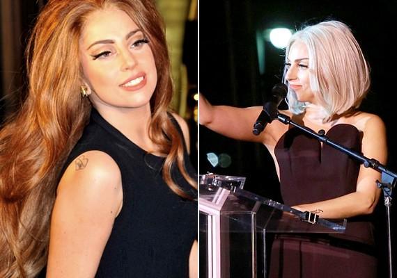 Bár az énekesnő híres extrém öltözeteiről, mostanában egyre többször látni szolidabb, sőt, már-már normális külsővel.