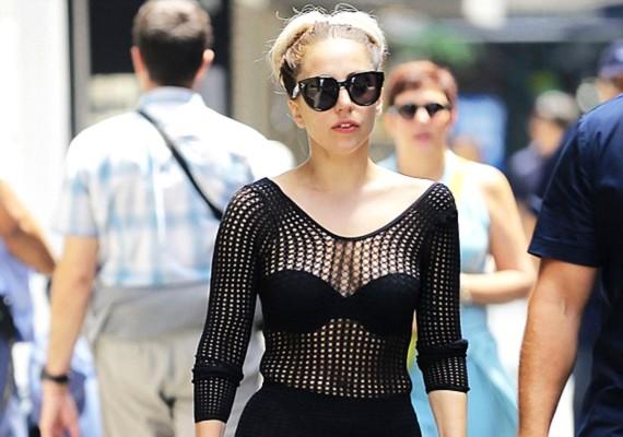 Lady Gaga nem vitte túlzásba az öltözködést, mielőtt kilépett az utcára.